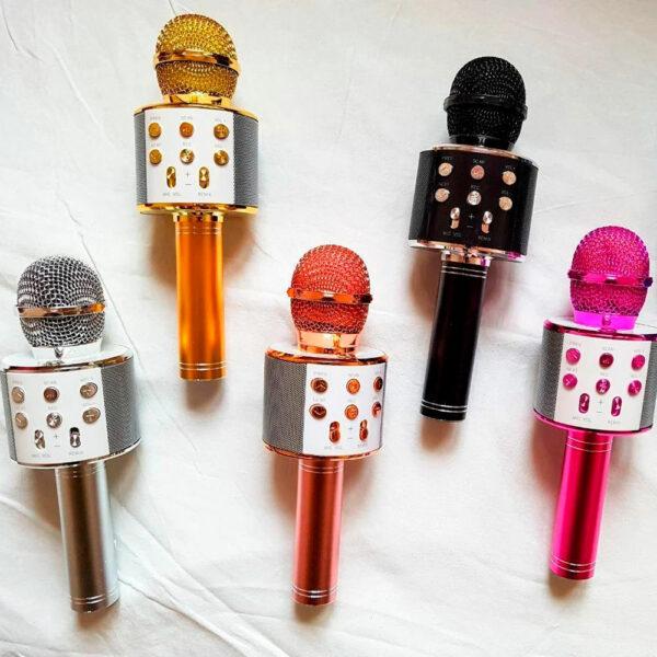 Беспроводной караоке-микрофон WS-858 3