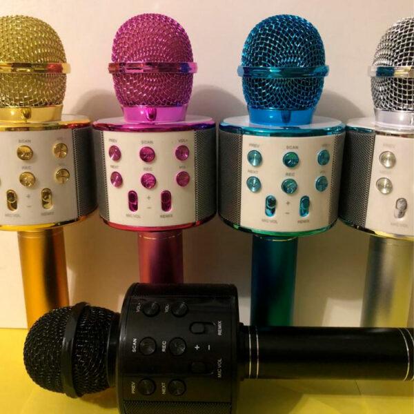 Беспроводной караоке-микрофон WS-858 2
