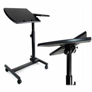 Стол для ноутбука на колёсиках Folding computer desk 2
