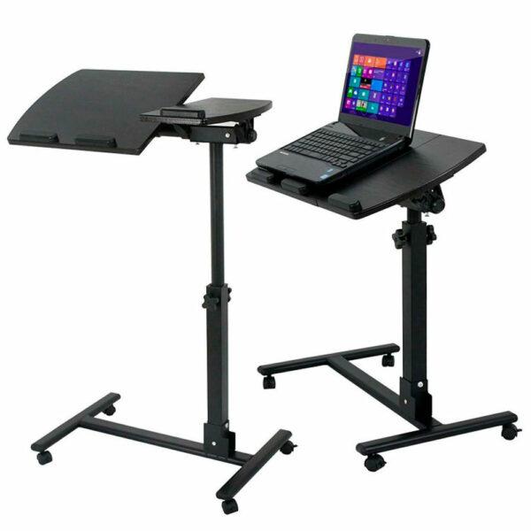 Стол для ноутбука на колёсиках Folding computer desk 3