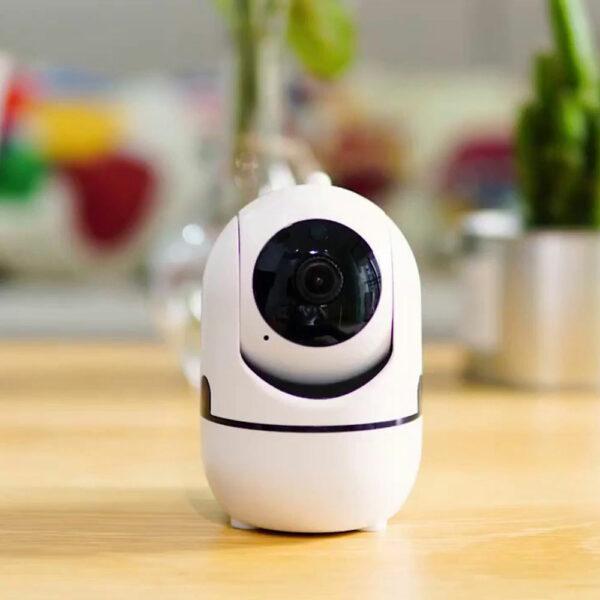 Беспроводная поворотная IP Wi-Fi камера видеонаблюдения для дома 3