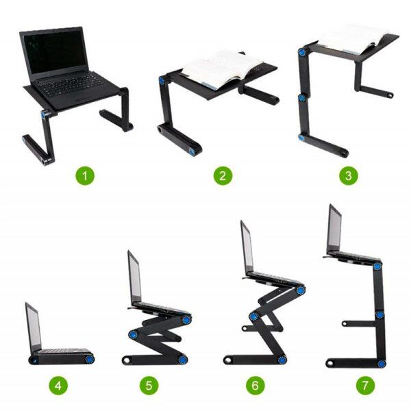 Стол-трансформер для ноутбука Laptope Table T8 5