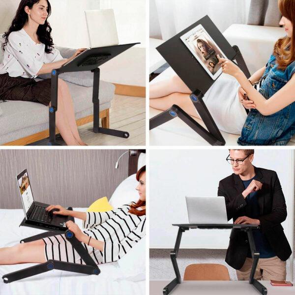Стол-трансформер для ноутбука Laptope Table T8 3