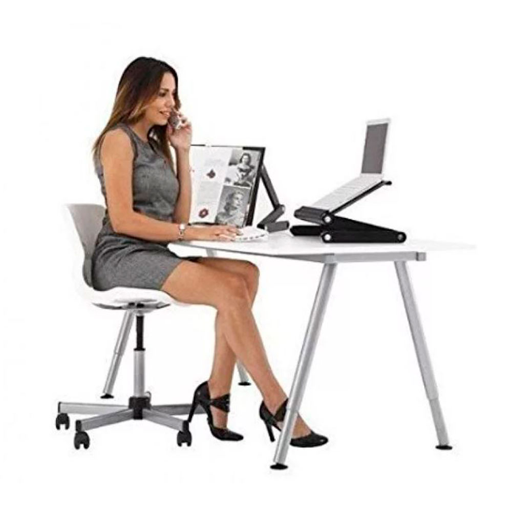 Стол-трансформер для ноутбука Laptope Table T8 11