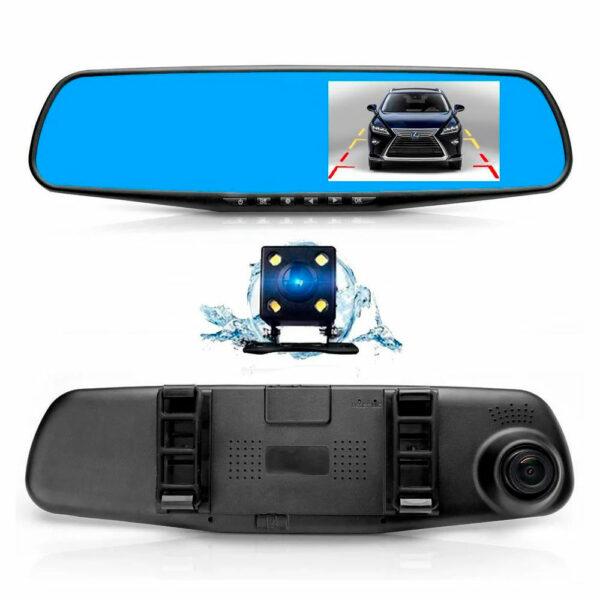 Зеркало-видеорегистратор Vehicle Blackbox DVR 5