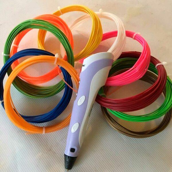 PLA пластик для 3Д ручки 1