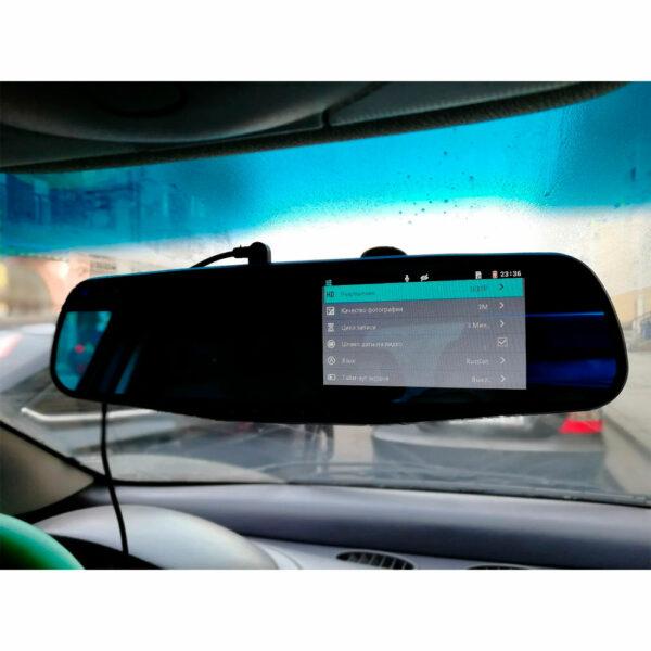 Зеркало-видеорегистратор Vehicle Blackbox DVR 2