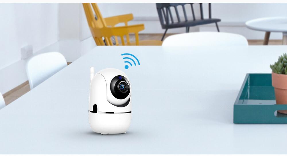 Беспроводная поворотная IP Wi-Fi камера видеонаблюдения для дома 14