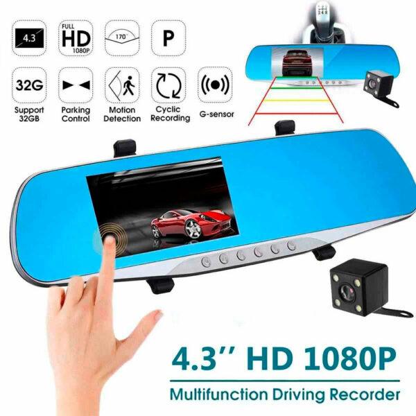 Зеркало-видеорегистратор Vehicle Blackbox DVR Premium 5