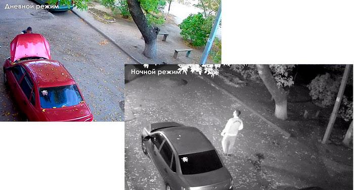 Уличная поворотная PTZ ip Wi-Fi камера видеонаблюдения 10