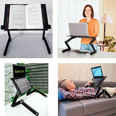 Стол-трансформер для ноутбука Laptope Table T8 22