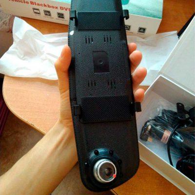 Зеркало-видеорегистратор Vehicle Blackbox DVR Premium 10