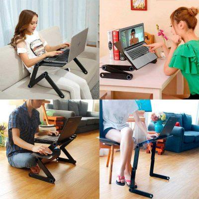 Стол-трансформер для ноутбука Laptope Table T8 20