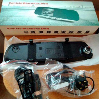 Зеркало-видеорегистратор Vehicle Blackbox DVR Premium 7